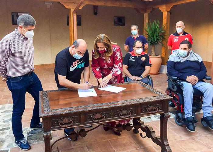 Argamasilla de Calatrava apoya al BSR Puertollano en su heroica competición en Primera División