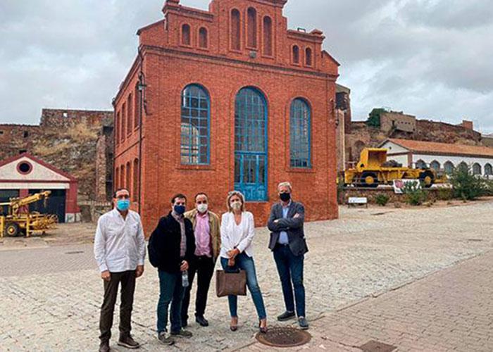Escuela de Minas, Mayasa y el Ayuntamiento preparan el acto en el que Almadén recibirá el galardón europeo por la importancia del mercurio en la historia