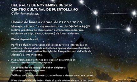 Puertollano acogerá unas jornadas regionales de capacitación de monitores astronómicos