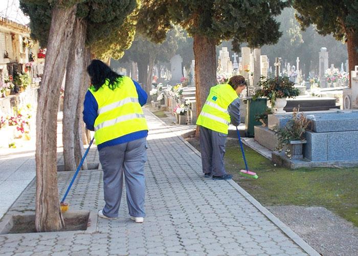 El cementerio ampliará su horario de apertura con aforo limitado a 600 personas y medidas sanitarias