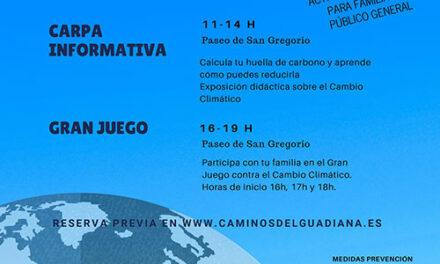 Actividades en el Paseo de San Gregorio este sábado en el «Día contra el cambio climático»