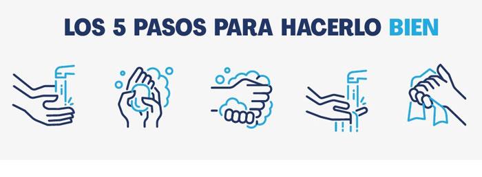 Aguas de Puertollano apuesta por el lavado de manos para salvar vidas