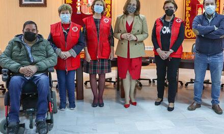 Cruz Roja también palpa la solidaridad rabanera que canalizará a las personas más desfavorecidas