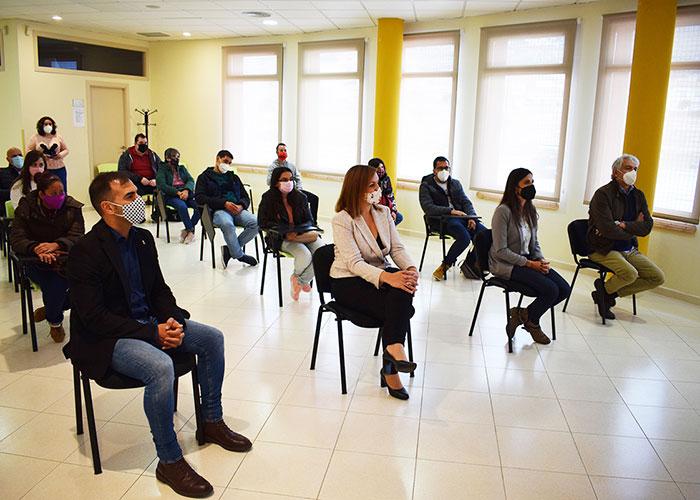 Amiab y Fundación Fuente Agria abren expectativas laborales en jardinería a ocho jóvenes con discapacidad