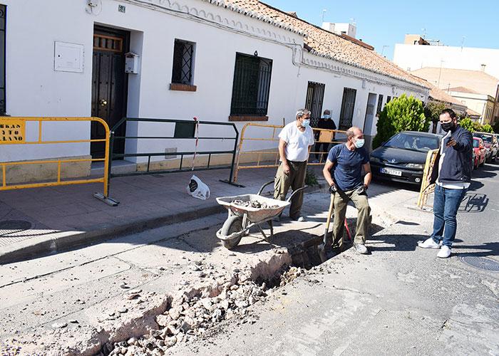 Nuevos pasos peatonales en Primero de Mayo y Goya refuerzan la seguridad vial