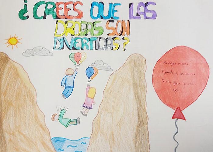 95 trabajos han concurrido al I Concurso de carteles y vídeos «¿Crees realmente que las drogas son divertidas?»