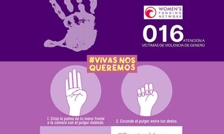 Argamasilla de Calatrava enseña el sencillo gesto con que las víctimas de violencia de género pueden pedir ayuda