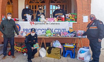 La ilusionante solidaridad rabanera se ha traducido este fin de semana en la donación de unos 600 juguetes