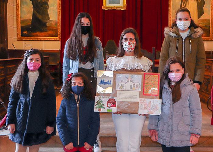Mucha originalidad en el certamen escolar de christmas organizado por el Ayuntamiento de Almodóvar