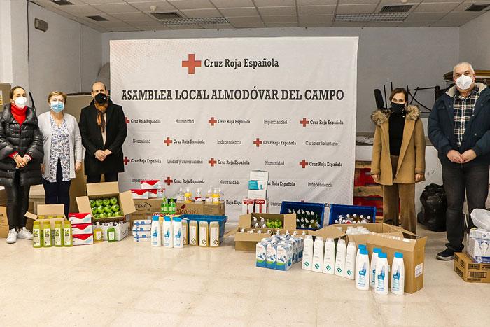 Las oficinas de farmacia de Almodóvar del Campo colaboran con la acción solidaria de Cruz Roja local