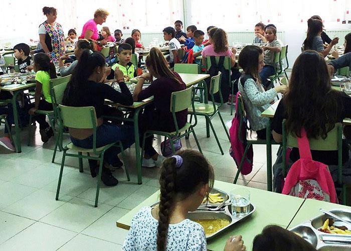 140 escolares tendrán el menú diario asegurado durante las fiestas navideñas