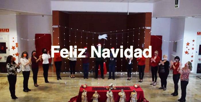 El alumnado del programa municipal de Educación de Adultos comparte la Navidad con coreografías y villancicos virtuales