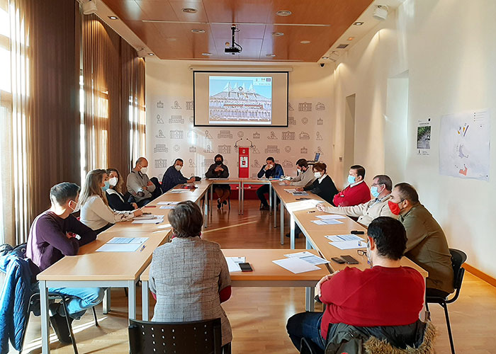 Los equipos de urbanismo de Ciudad Real y Puertollano comparten experiencias de innovación en proyectos sostenibles