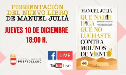 Manuel Juliá presentará y firmará el jueves ejemplares de su último libro en la Casa de Baños