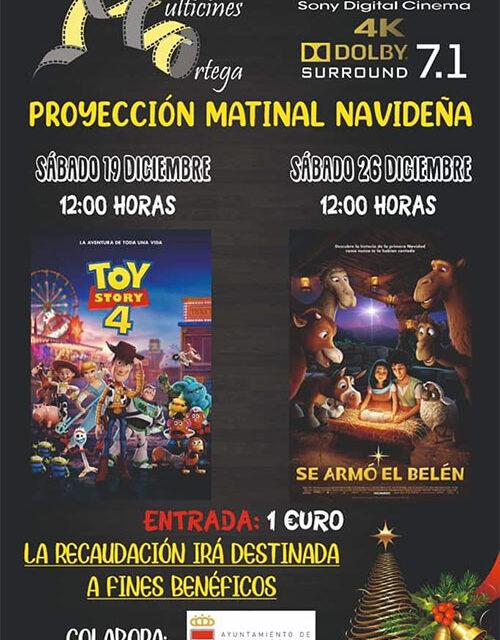 Sábados de cine en Multicines Ortega con «Toy Story 4» y «Se armó el Belén»