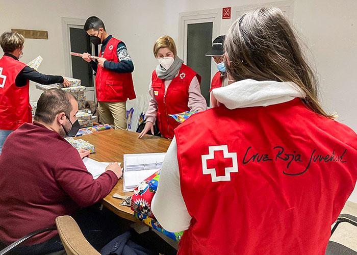 Cruz Roja Juventud destinó 50 juguetes de la solidaridad de Almodóvar a niños y niñas vulnerables