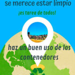 Campaña de concienciación «Almadén se merece estar limpio»