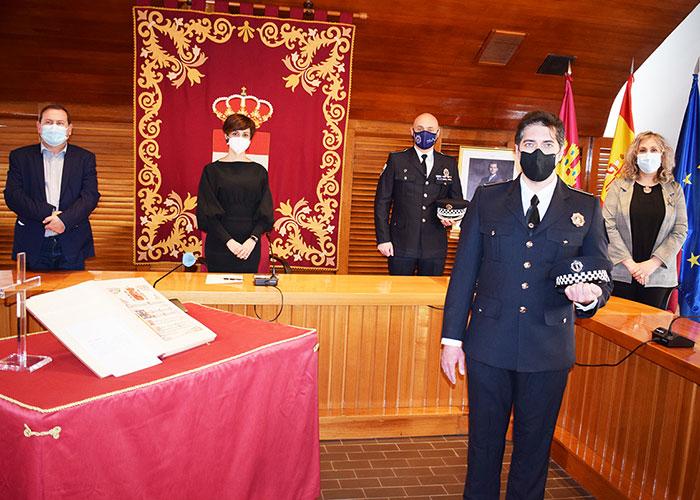 La Policía Local de Puertollano refuerza su plantilla con la incorporación un nuevo agente