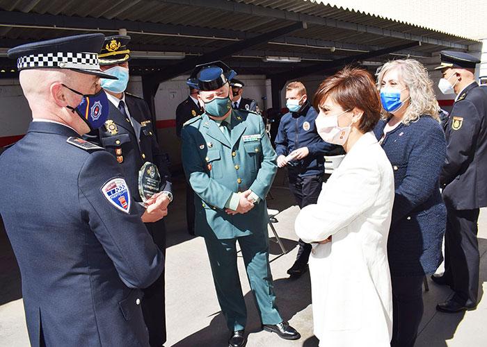 Agradecimiento a la profesionalidad de la Policía Local en un año de pandemia
