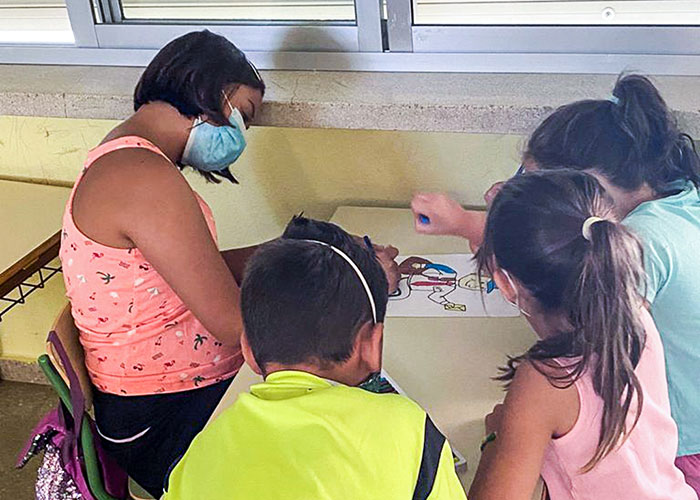 El Ayuntamiento de Argamasilla de Calatrava abre su Campus Urbano para conciliar la vida familiar y laboral y enseñar oficios a sus participantes
