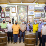 El Club Taurino 'Almodóvar' enseña el resultado del trabajo de recuperación de los daños que causó 'Filomena'