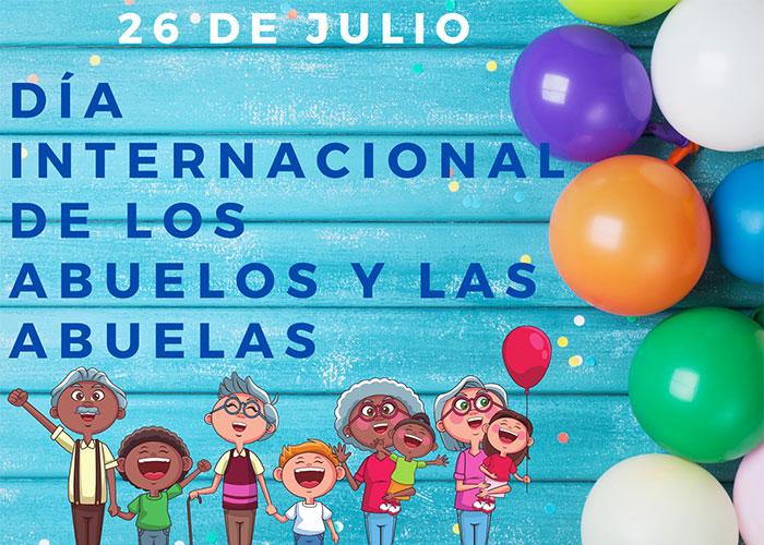 Los centros de mayores celebrarán el XVII Encuentro Intergeneracional con motivo del Día Internacional del abuelo y la abuela