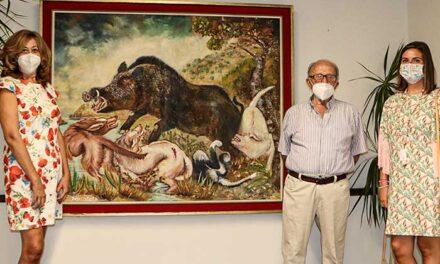 El arte pictórico de Isaac Pérez Infante reabre las puertas de las salas de exposiciones en la 'Casa de la Marquesa'