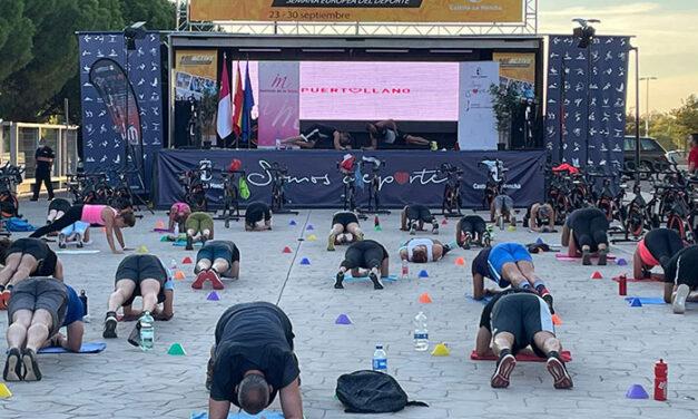 El Gobierno Regional promueve el deporte y la vida sana con la master class «Be Active»