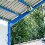 El Ayuntamiento de Almodóvar sonoriza el campo municipal de fútbol del Complejo 'Miguel Hernández'