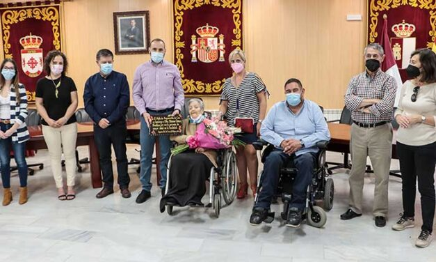 Argamasilla de Calatrava homenajea a Máxima Gómez Novalbos como la persona de más edad